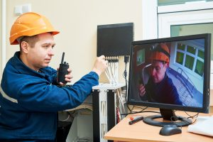 Övervakning på byggarbetsplatser